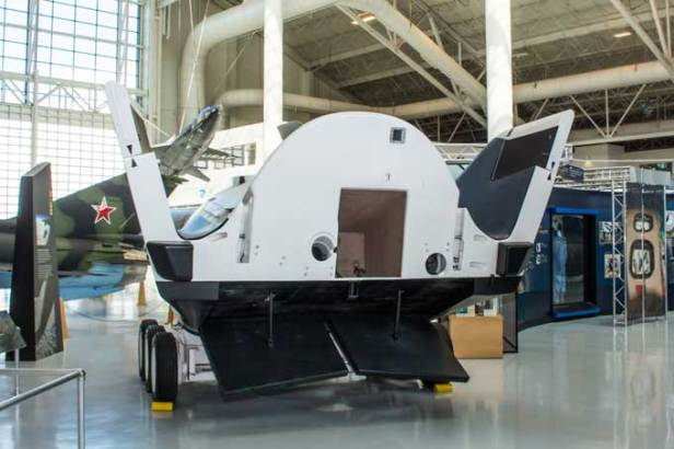 X-38 read entry, at Evergreen Air Museum Photo by wacamerabuff copyright