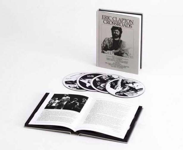 Eric Clapton - Crossroads Box Set UK version (hard bound book)