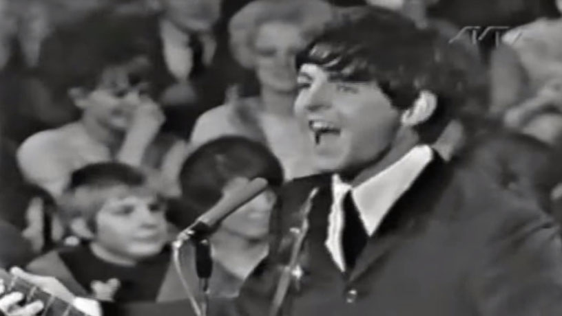 The Beatles 1963 on Stockholm Sveriges Television Drop In