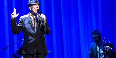 Leonard Cohen in concert 2013 (photo by Brian B. Sorensen, Flickr)