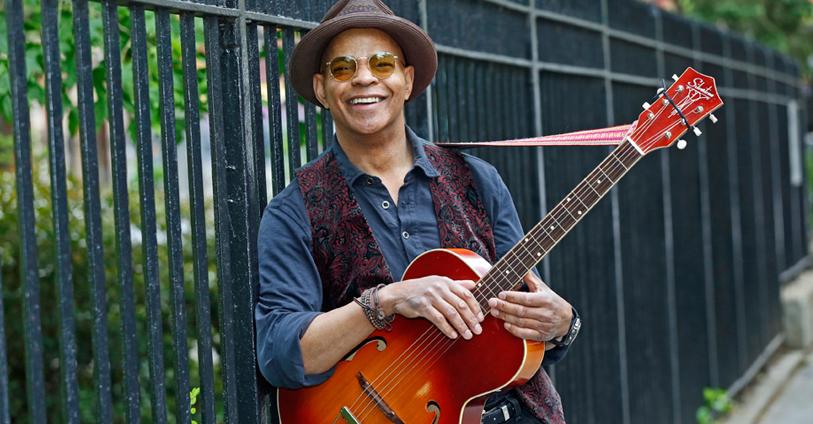 Guy Davis, blues man (photo by Joseph A. Rosen)