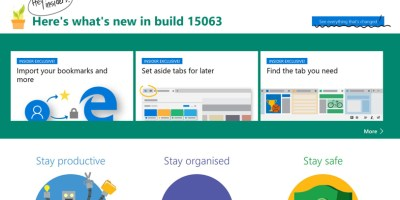 Windows 10 Creators Update Preview Build new features in Edge (photo NJN Network)