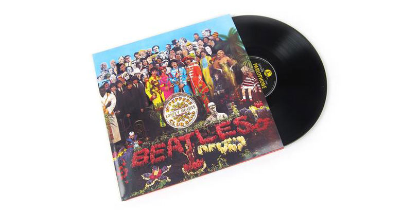 The Beatles Sgt. Peppers Lonely Hearts Club Band 50th anniversary vinyl