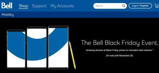 Black Friday Secret $20 Monthly Discount from Telus and Bell
