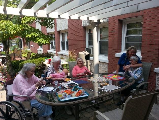 Regency Sunshine Group Outdoors!