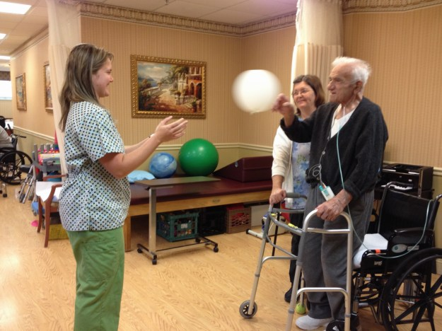 Team in action with one of our patients!