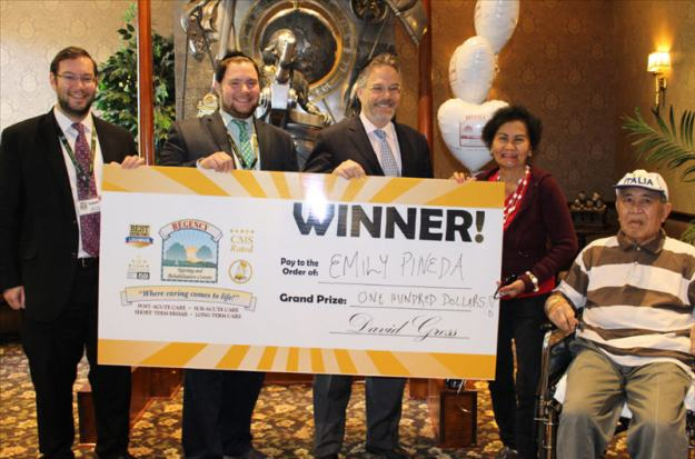 Left to Right: Robert Gross, Tzvi Gross, David Gross, Mr. & Mrs. Pineda