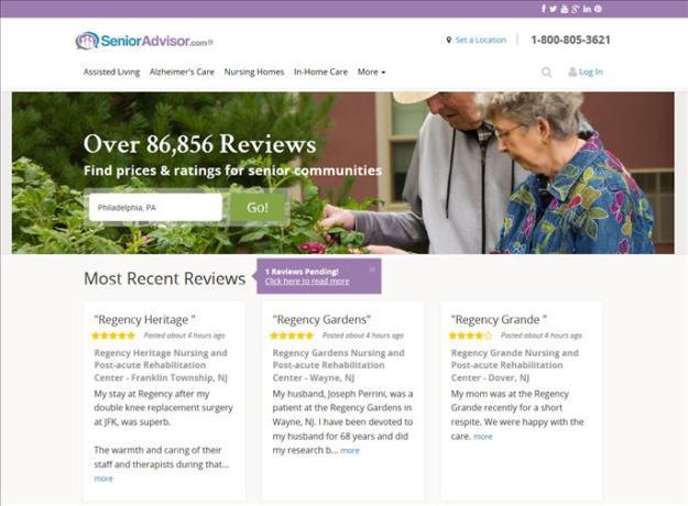 advisor homepage