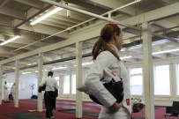 Watching my first fencing match