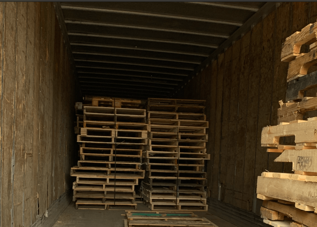 Pallet Trailer Storage and Removal