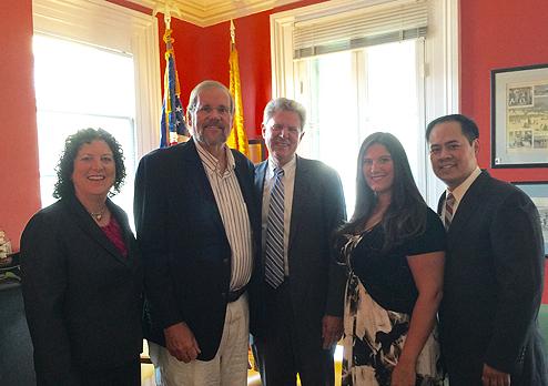 Photo of Congressman Pallone and NJPHA Executive Board