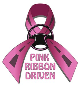 Pink Ribbon Driven Logo