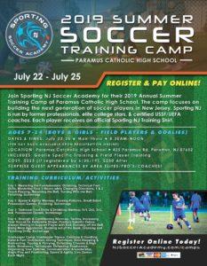 Best NJ Soccer camps for 2019