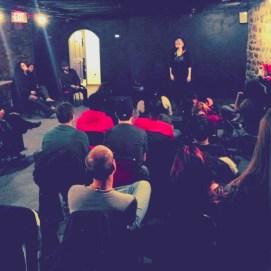 Nic Jean / Nicole Jean Turner, Underground Poetry Spot, 2013