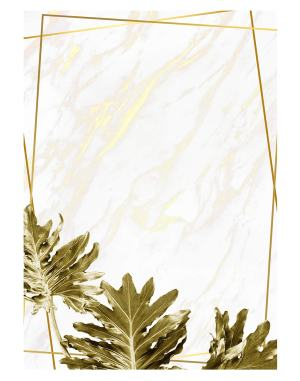 Gold-Philodendron-xanadu-welcome-board