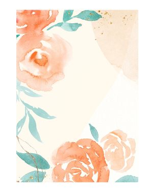 Orange-rose-welcome-board