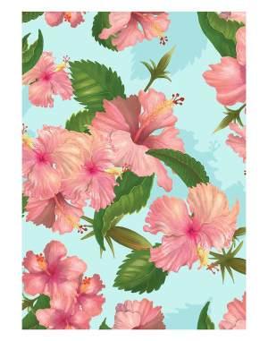 Watercolor-flower-welcome-board