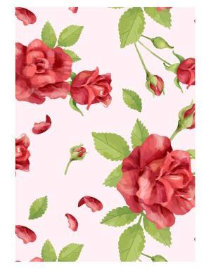 rose-flower-welcome-board