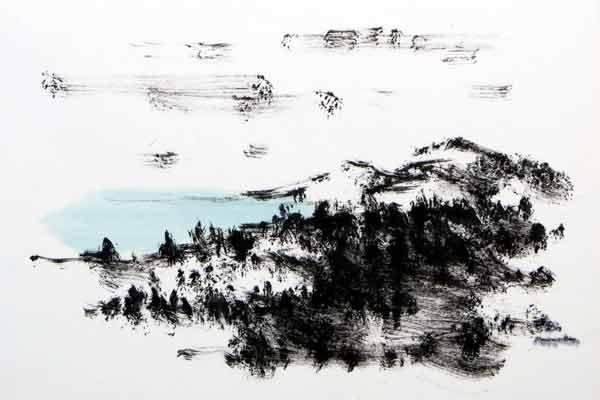 nikitas kavouklés artist s portfolio ink drawings
