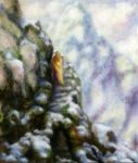 mountain zen monk