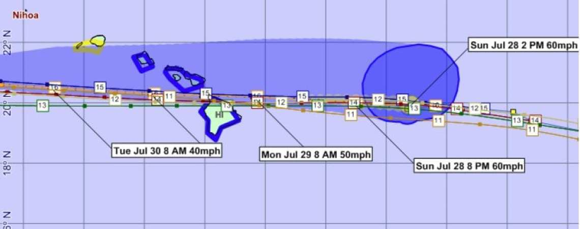 Tropical Storm Flossie 16A
