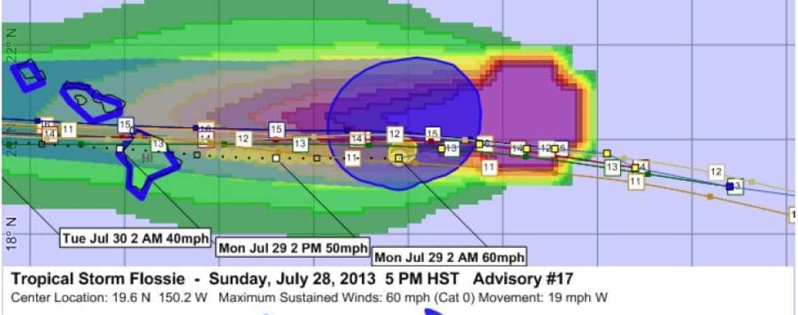 Tropical Storm Flossie 17