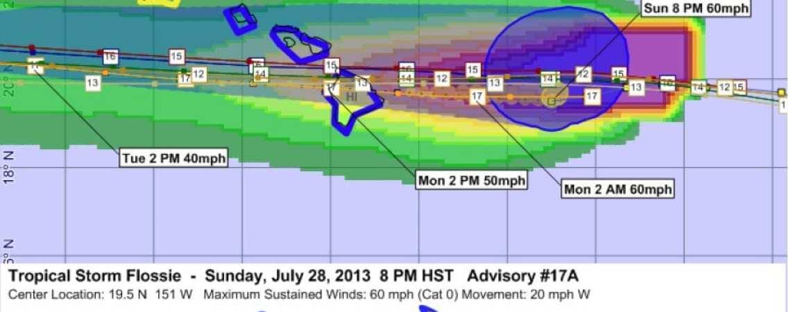 Tropical Storm Flossie 17A