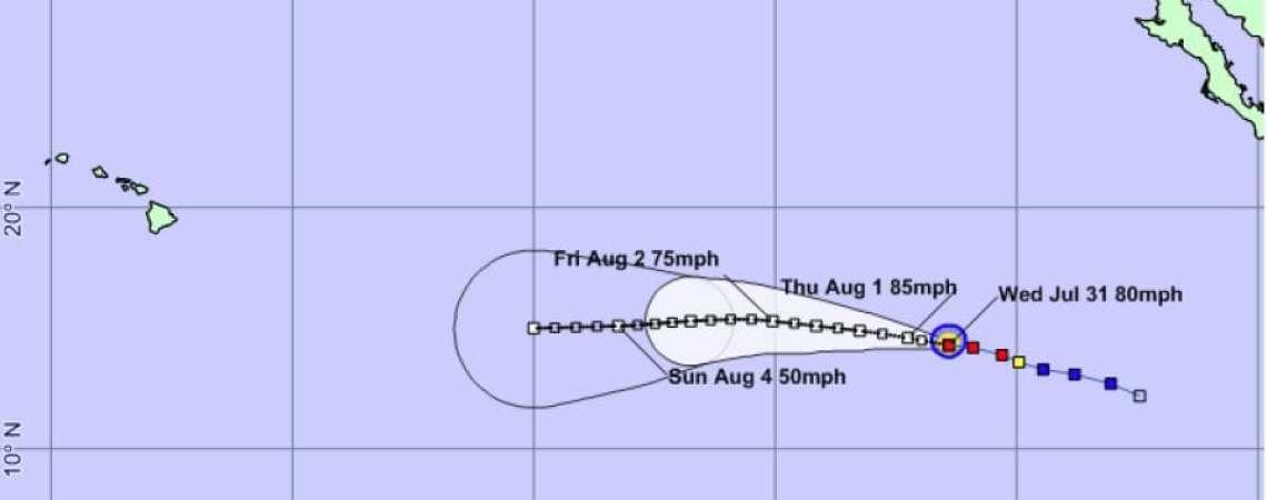 Hurricane Gil Advisory 8