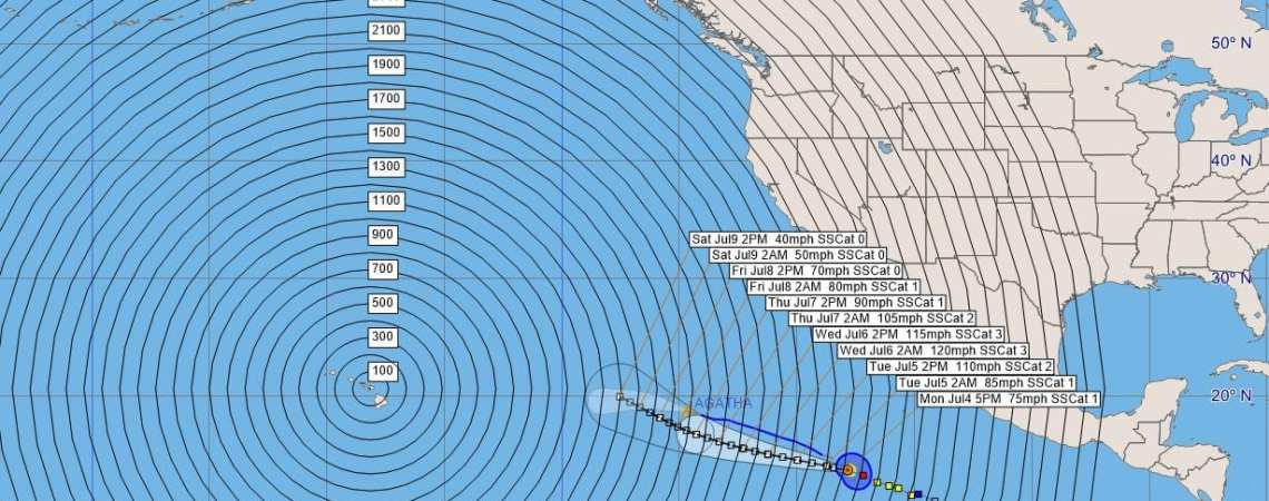 Hurricane Blas Advisory #8