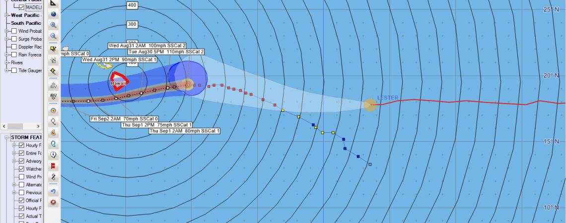 Hurricane Madeline Advisory 18
