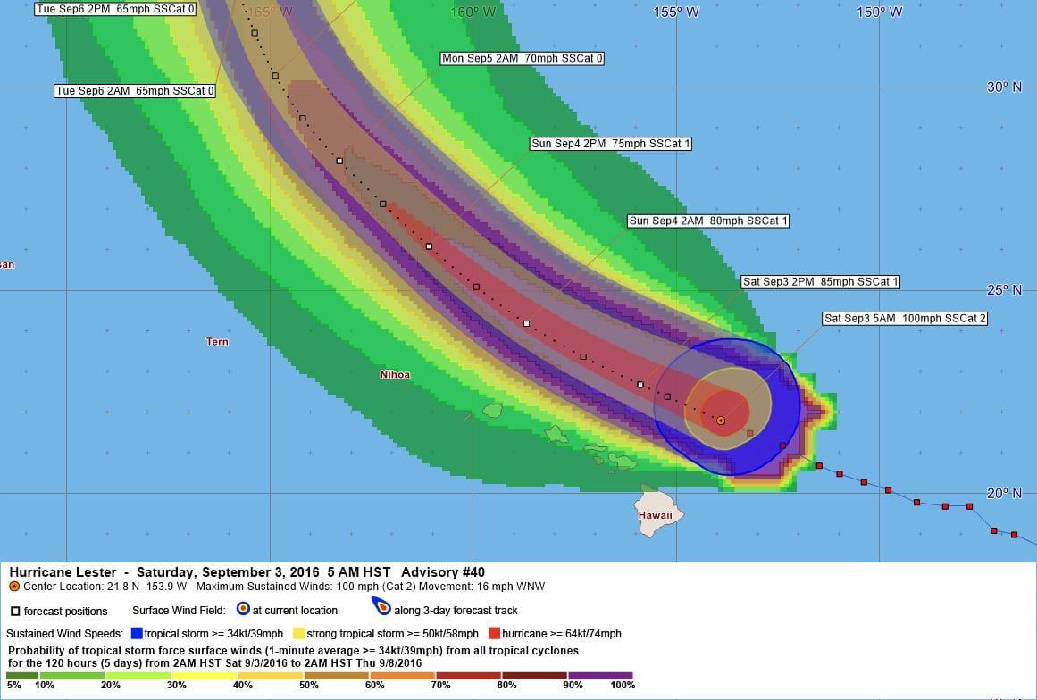 Hurricane Lester Advisory 40