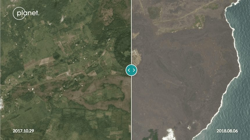 Kilauea Volcano Lower East Rift Zone