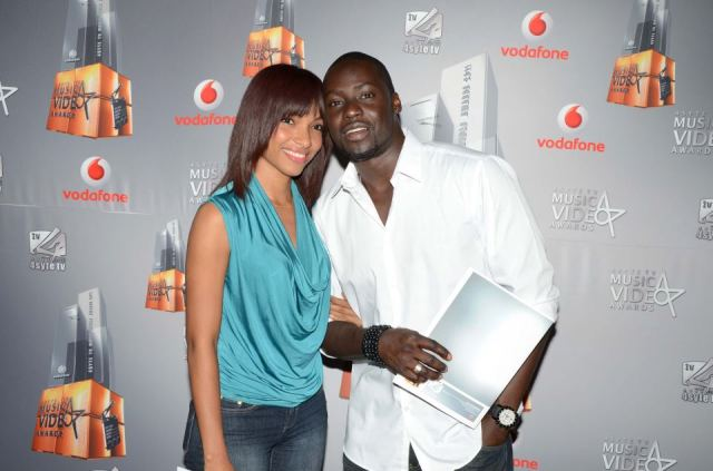 Chris Attoh and girlfriend