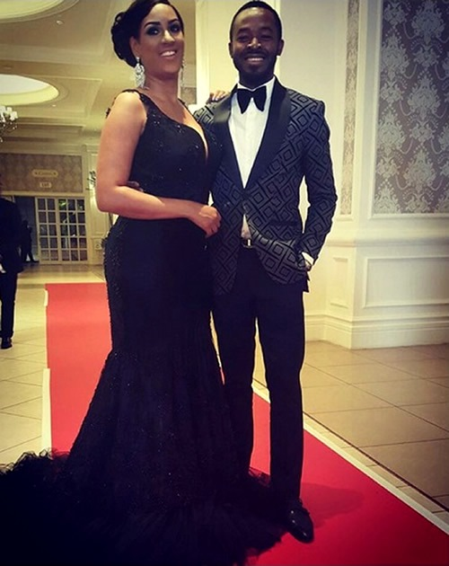 Actress Juliet Ibrahim and Nigerian actor OC Ukeje.jpg