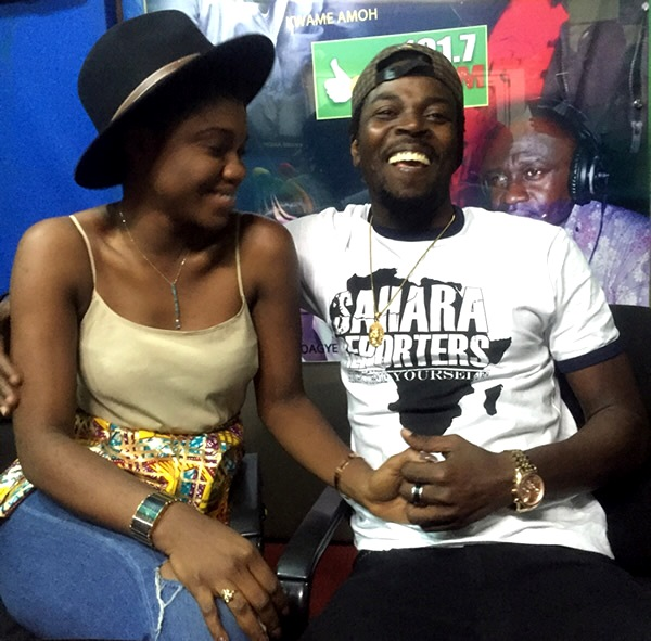 Becca and Kwaw