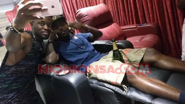 Kwaw and Kennedy in Despite Mansion