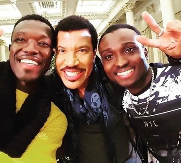 Reggie N Bollie with Lionel Richie