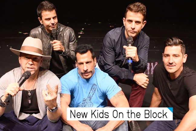 New Kids On The Block New Edition BET Awards