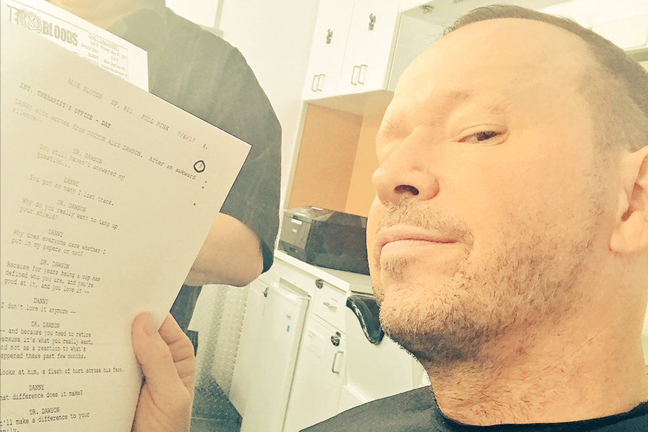 Donnie Wahlberg back to Blue Bloods Season 8