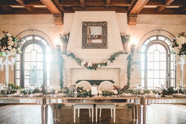 Powel Crosley Estate Weddings-NK Productions- sweetheart table-