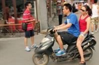 Normal kørsel i Hutongernes smalde gader
