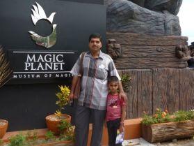 At Magic Planet, Thiruvananthapuram