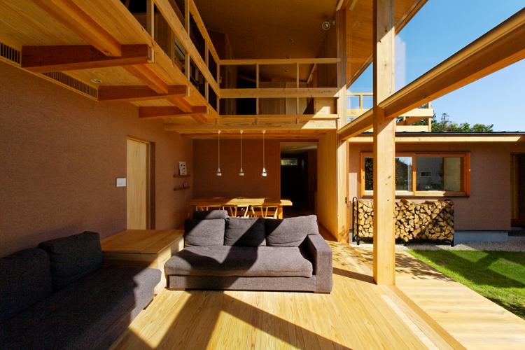 下古山・中庭のある家 中山大輔建築設計事務所 栃木県注文住宅 木造