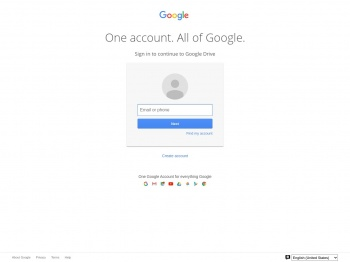 Sign-in - Google Drive