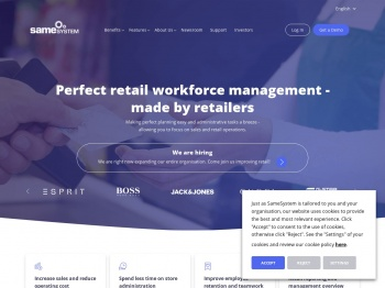 SameSystem: Perfect retail workforce management - made by ...