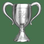 Zilveren trofee