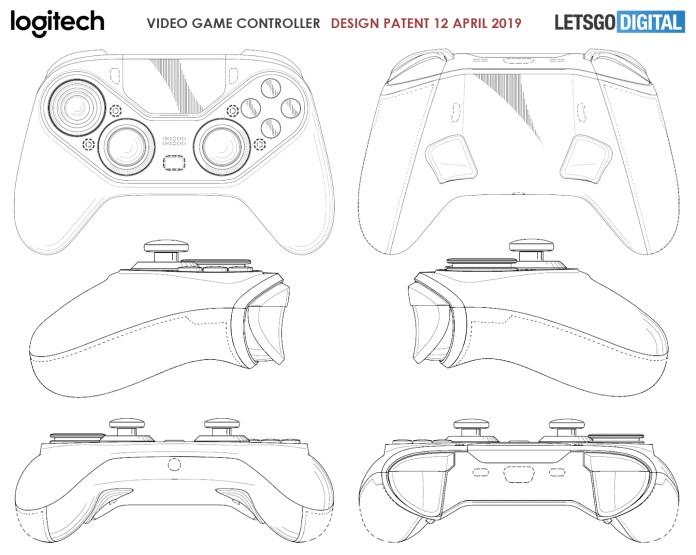 Logitech game controller