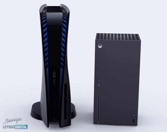 PlayStation 5與Xbox Series X相比。