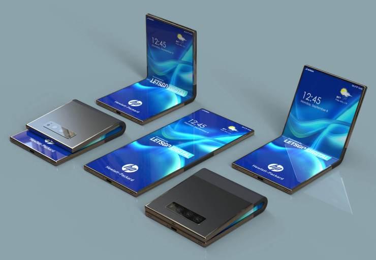 Smartphone plegable HP