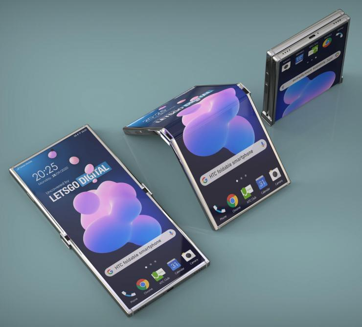 Compra un teléfono inteligente plegable
